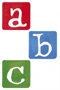Alphabet Wallies Wallpaper Cutouts