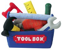 Tool Box Cloth Playset by Pockets of Learning
