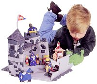 Medieval Castle Cloth Playset by Pockets of Learning