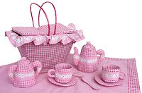 Tea Party Set Cloth Playset by Pockets of Learning