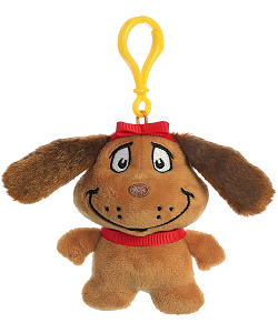 Max the Dog Dr. Seuss Plush Clip-On Stuffed Animal by Aurora