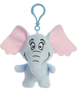 Horton Dr. Seuss Plush Clip-On Stuffed Animal by Aurora