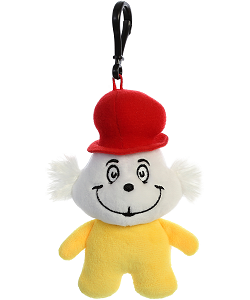 Sam I Am Dr. Seuss Plush Clip-On Stuffed Animal by Aurora