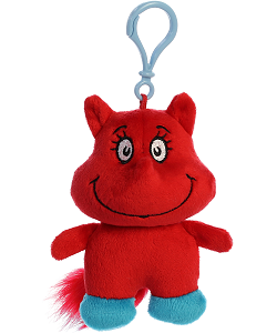 Fox in Socks Dr. Seuss Plush Clip-On Stuffed Animal by Aurora