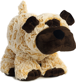 Howler Dog Funny Bones Stuffed Animal by Aurora World (Standing)