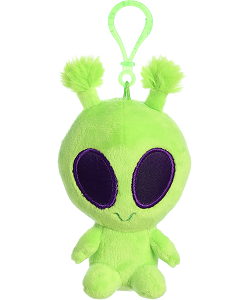Twitch Alien Galactic Cuties Plush Clip-On by Aurora World