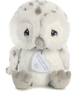 Nigel Snowy Owl Precious Moments Plush Animal by Aurora