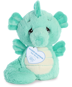 Sandie Seahorse Precious Moments Plush Animal by Aurora