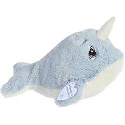 Nico Narwhal Precious Moments Plush Animal by Aurora