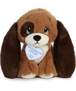 Hunter Hound Dog Precious Moments Plush Animal by Aurora