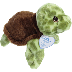 Flipper Sea Turtle Precious Moments Plush Animal by Aurora