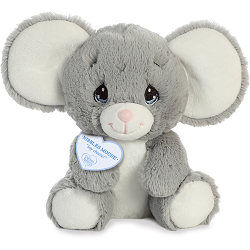 Nibbles Mouse Precious Moments Plush Animal by Aurora