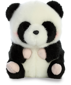 Precious Panda Rolly Pets Stuffed Animal by Aurora World (Front)