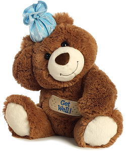 Get Well Bear Stuffed Animal by Aurora