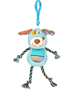 Cheery Clips Dog Backpack Clip Stuffed Animal by Mary Meyer