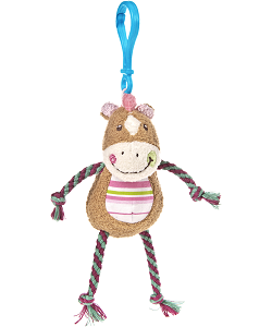 Cheery Clips Horse Backpack Clip Stuffed Animal by Mary Meyer