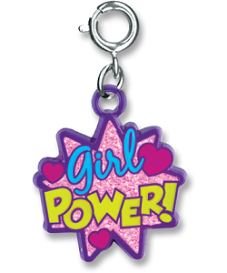 CHARM IT! Girl Power Burst Charm by High IntenCity