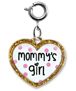CHARM IT! Mommy's Girl Heart Charm by High IntenCity