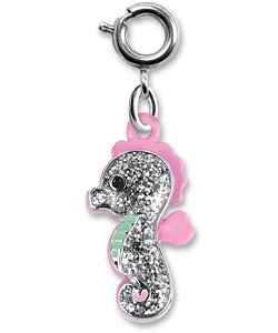 CHARM IT! Glitter Seahorse Charm by High IntenCity