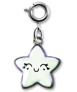 CHARM IT! Iridescent Star Charm by High IntenCity (Front)