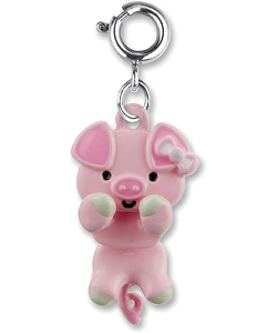 CHARM IT! Pig Swivel Charm by High IntenCity