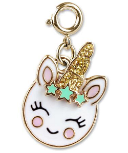 CHARM IT! Unicorn Smiley (Gold-Tone) Charm by High IntenCity