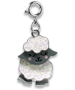 CHARM IT! Glitter Sheep Swivel Charm by High IntenCity