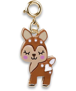 CHARM IT! Fawn (Gold-Tone) Charm by High IntenCity