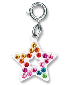 CHARM IT! Rainbow Open Star Charm by High IntenCity