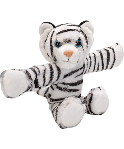 White Tiger CK Huggers Stuffed Animal by Wild Republic (Arms Open)