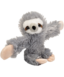 Sloth Huggers Stuffed Animal by Wild Republic (Arms Open)