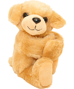 Yellow Labrador Huggers Stuffed Animal by Wild Republic (Arms Closed)
