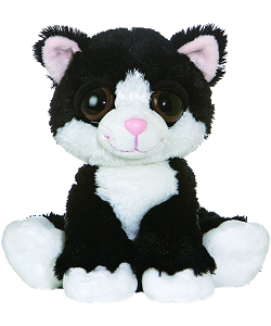 Clarence Cat (Sitting) Dreamy Eyes Stuffed Animal by Aurora World