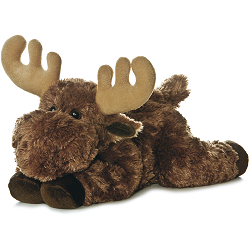Moose Flopsies Stuffed Animal by Aurora World
