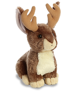 Jackalope Flopsies Stuffed Animal by Aurora World