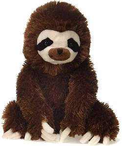 Sloth Lil Buddies (Large) Plush Animal by Fiesta