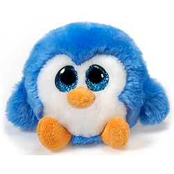 Blue Berry Penguin Lubby Cubbies Stuffed Animal by Fiesta