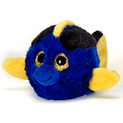 Dizzy Blue Tang Fish Lubby Cubbies Stuffed Animal by Fiesta