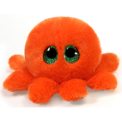Tootsie Octopus Lubby Cubbies Stuffed Animal by Fiesta