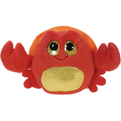 Snappy Crab Lubby Cubbies Stuffed Animal by Fiesta