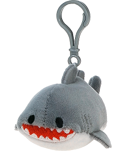Shark Lil' Huggy Plush Backpack Clip Stuffed Animal by Fiesta