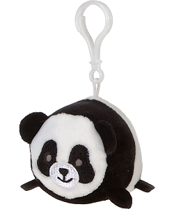 Panda Lil' Huggy Plush Backpack Clip Stuffed Animal by Fiesta