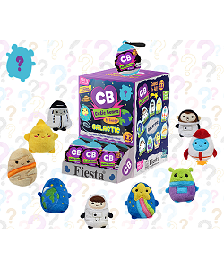 Galactic Mystery Cutie Beans Plush with Clip Case by Fiesta