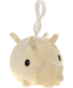 Sea Pig Snugglies Plush Backpack Clip by Fiesta