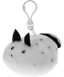 Sea Bunny Snugglies Plush Backpack Clip by Fiesta