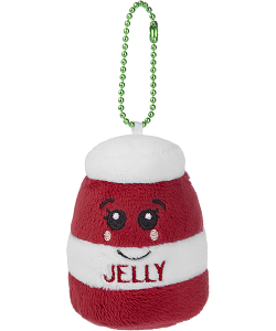Berry Jelly Scrumchums Plush Food Keychain
