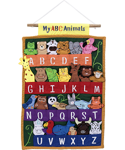 My ABC Animals Cloth Wall Hanging