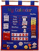 My Calendar Wall Hanging (Blue)
