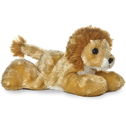 Lionel Lion Mini Flopsies Stuffed Animal by Aurora World