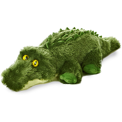 Gotcha Alligator Mini Flopsies Stuffed Animal by Aurora World